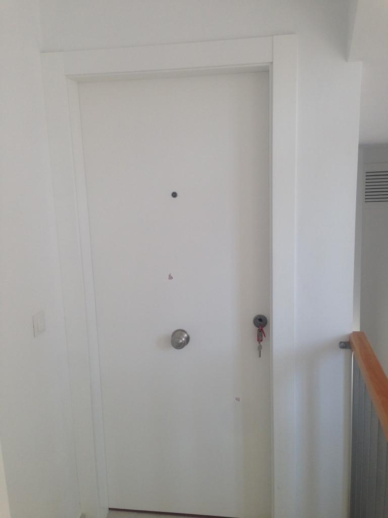 Puertas de paso lacadas en blanco fabulous puertas - Puertas de paso lacadas en blanco ...