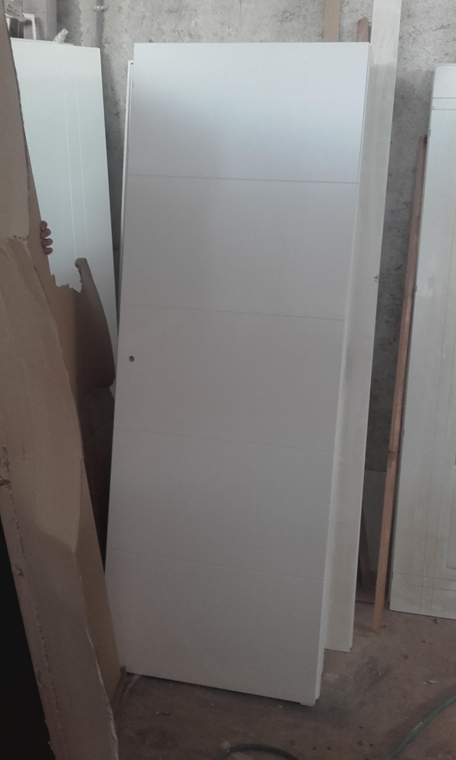 Trabajos realizados puertas lacadas blancas en granada - Puertas lacadas en blanco ...