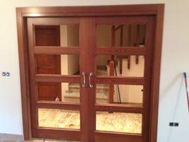 puerta doble para salon