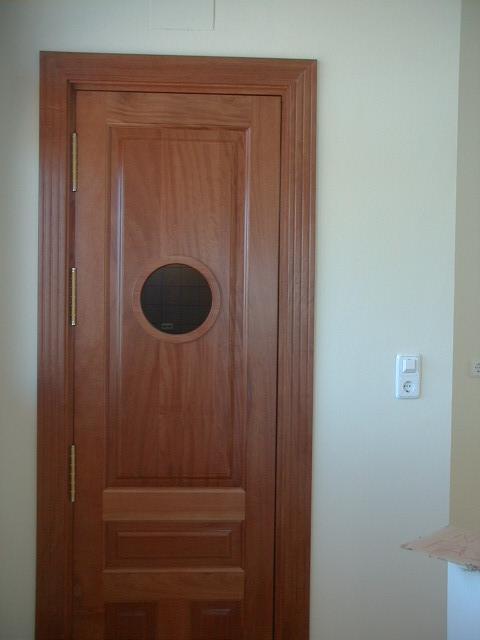 Trabajos realizados puertas de paso interior de madera - Puertas ojo de buey precio ...