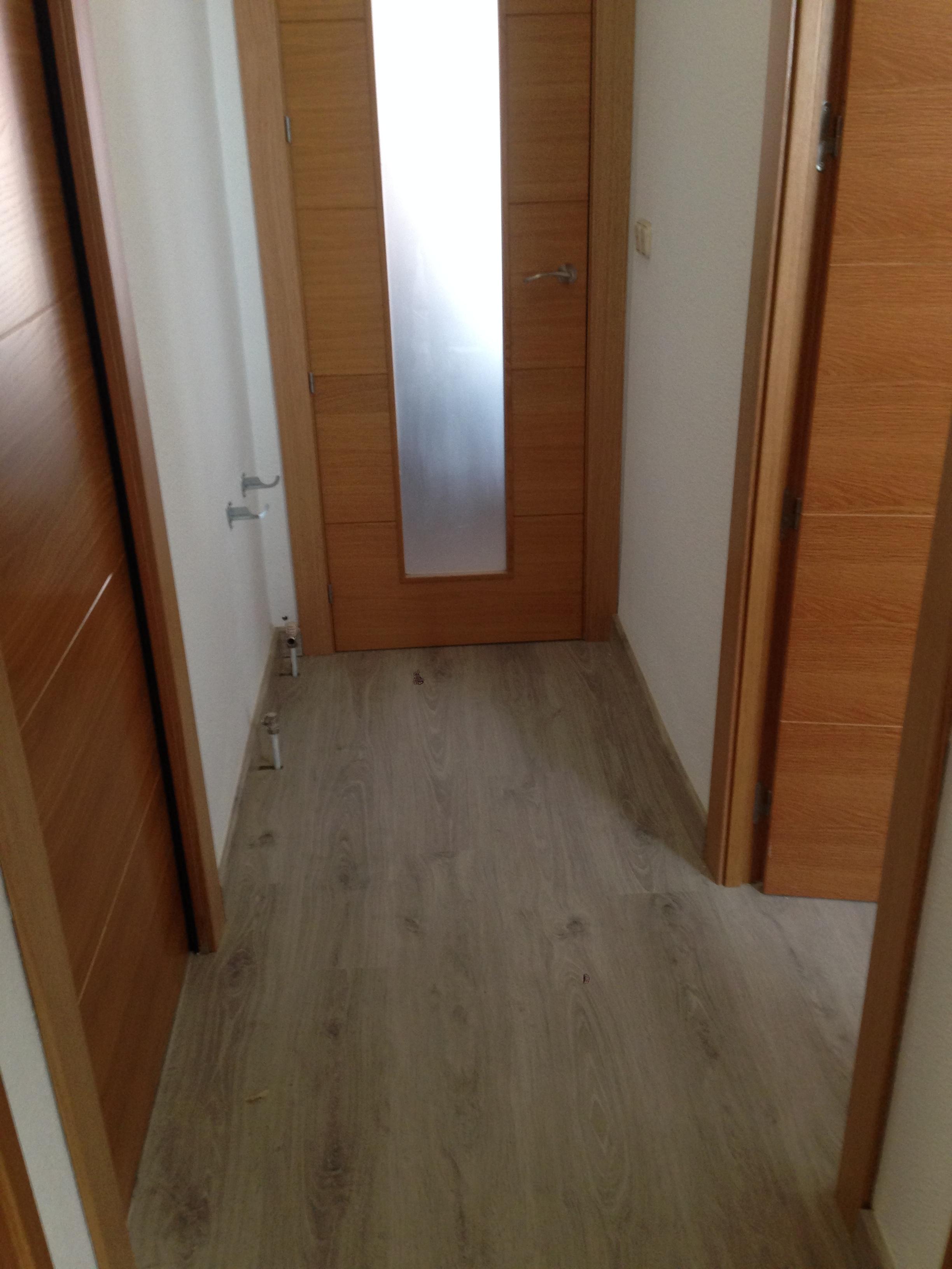 trabajos realizados puertas de paso interior de madera