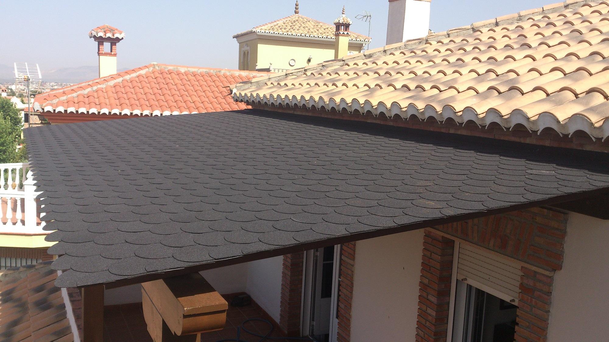 Material para techos de pergolas carpinteria movidecor granada Techos para pergolas de madera