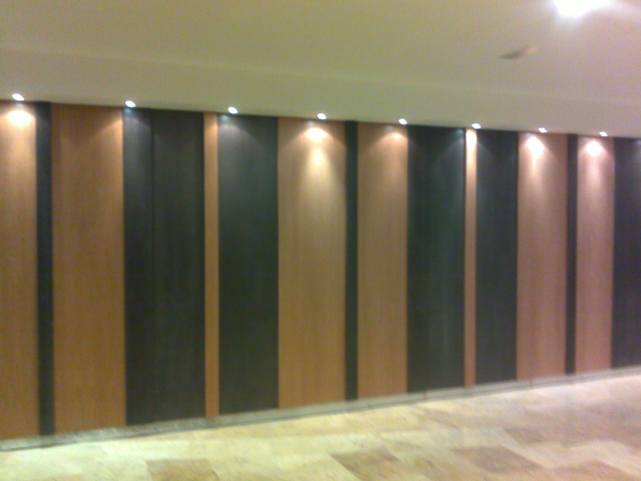 Panelado De Madera En Forma De Acordeon Carpinteria Movidecor Granada - Panelado-madera