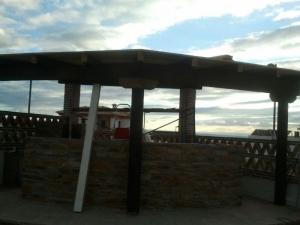 Pérgola de madera para exterior