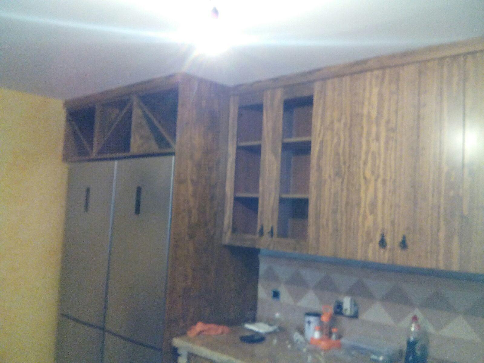 Cocinas r sticas de madera carpinteria movidecor granada for Cocinas baratas granada