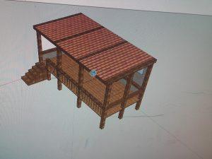tejado-de-pergola-de-madera