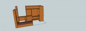 diseño de dormitorio en 3d