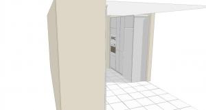 diseño en 3d de muebles de cocina
