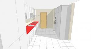 diseño en 3d de cocina