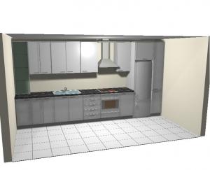 fabricando en 3d una cocina