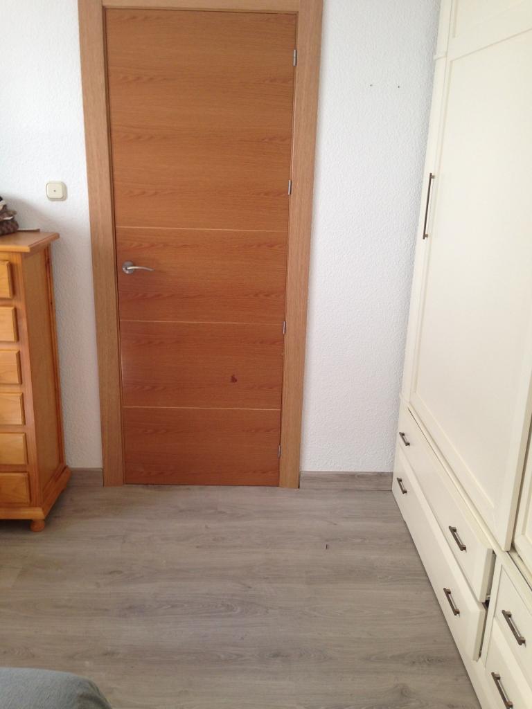 Puertas de paso interior de madera venta e instalaci n - Puertas piso interior ...