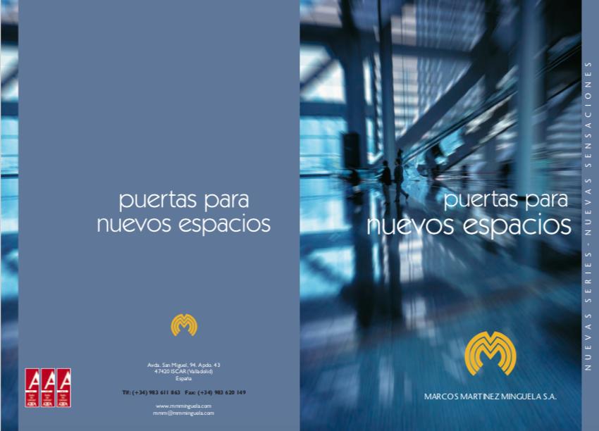 catalogo puertas de interior Marcos Martinez