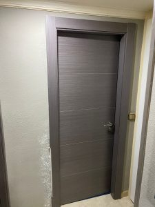 Puertas grises