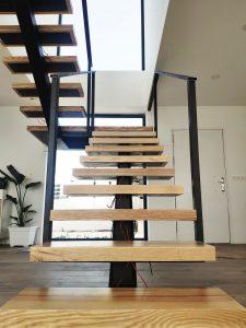 Escalones de madera maciza (2)
