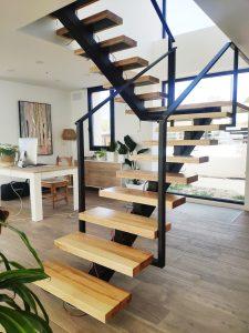 Escalones de madera maciza (3)
